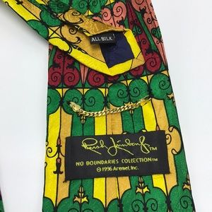 Rush Limbaugh Accessories - Rush Limbaugh Silk Tie No Boundaries Collection